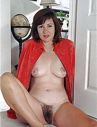mujer madura peluda