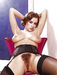 desnudas con coños peludos